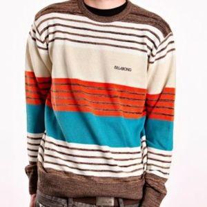 NWT BILLABONG Blaze Stripe Lightweight Sweater